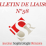 Bulletin de Liaison ISR 58