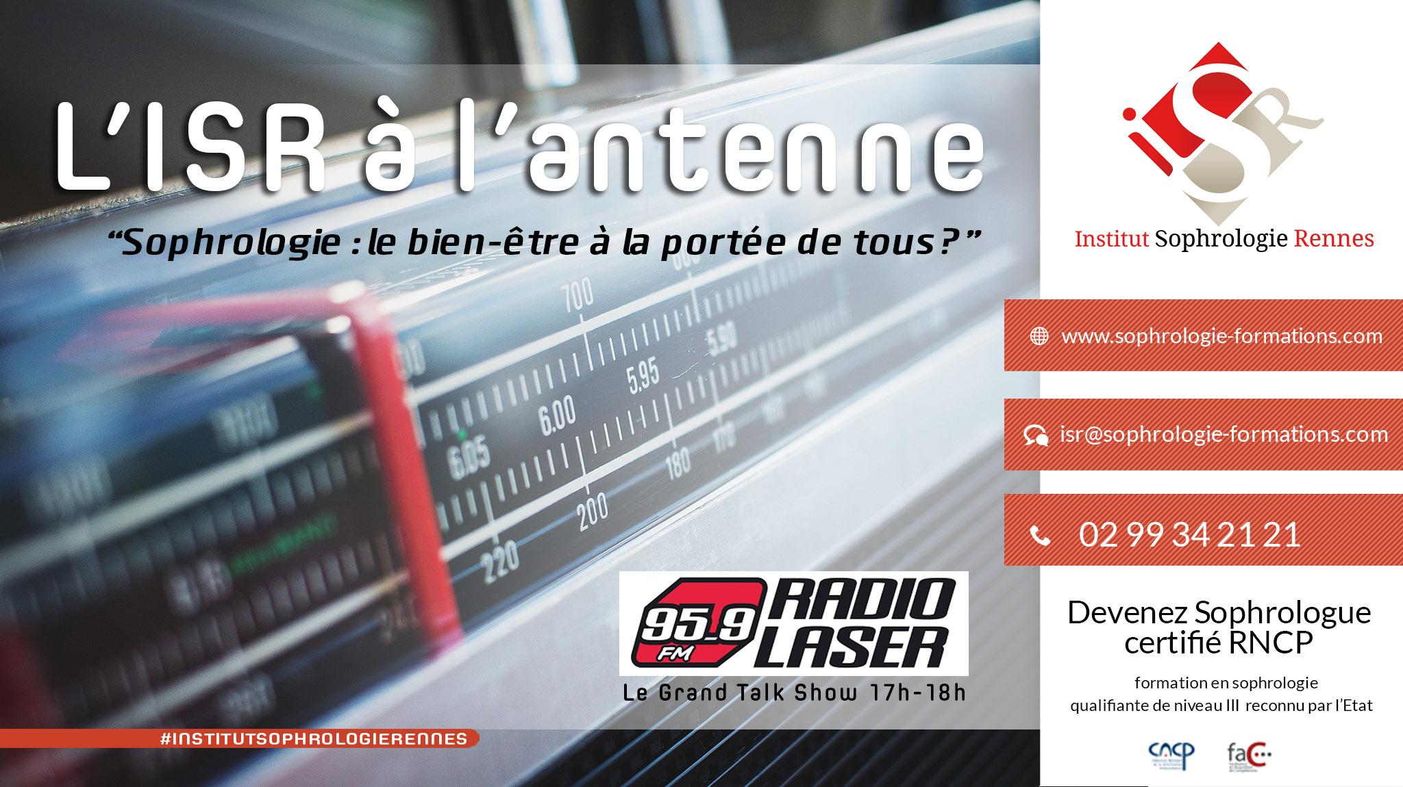 Institut de Sophrologie de Rennes - Radio Laser