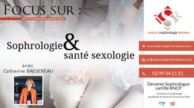Focus sur Sophrologie santé et sexologie - ISR