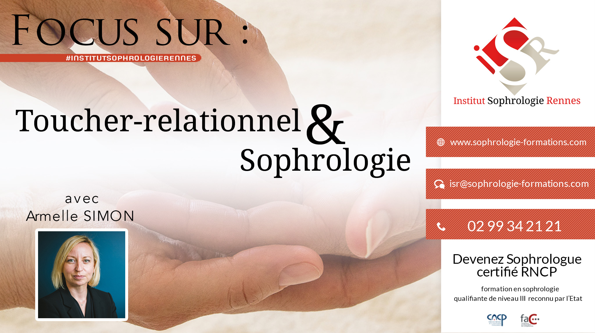 Focus sur Toucher-relationnel et sophrologie - ISR