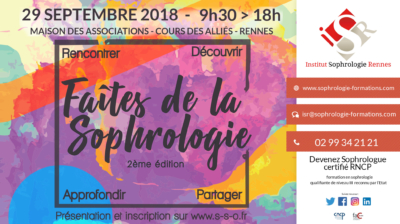 Faites de la Sophrologie 2018 - ISR