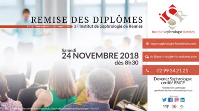 Remise des diplômes 2018 - ISR