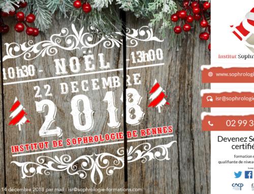 Noël à l'Institut de Sophrologie de Rennes