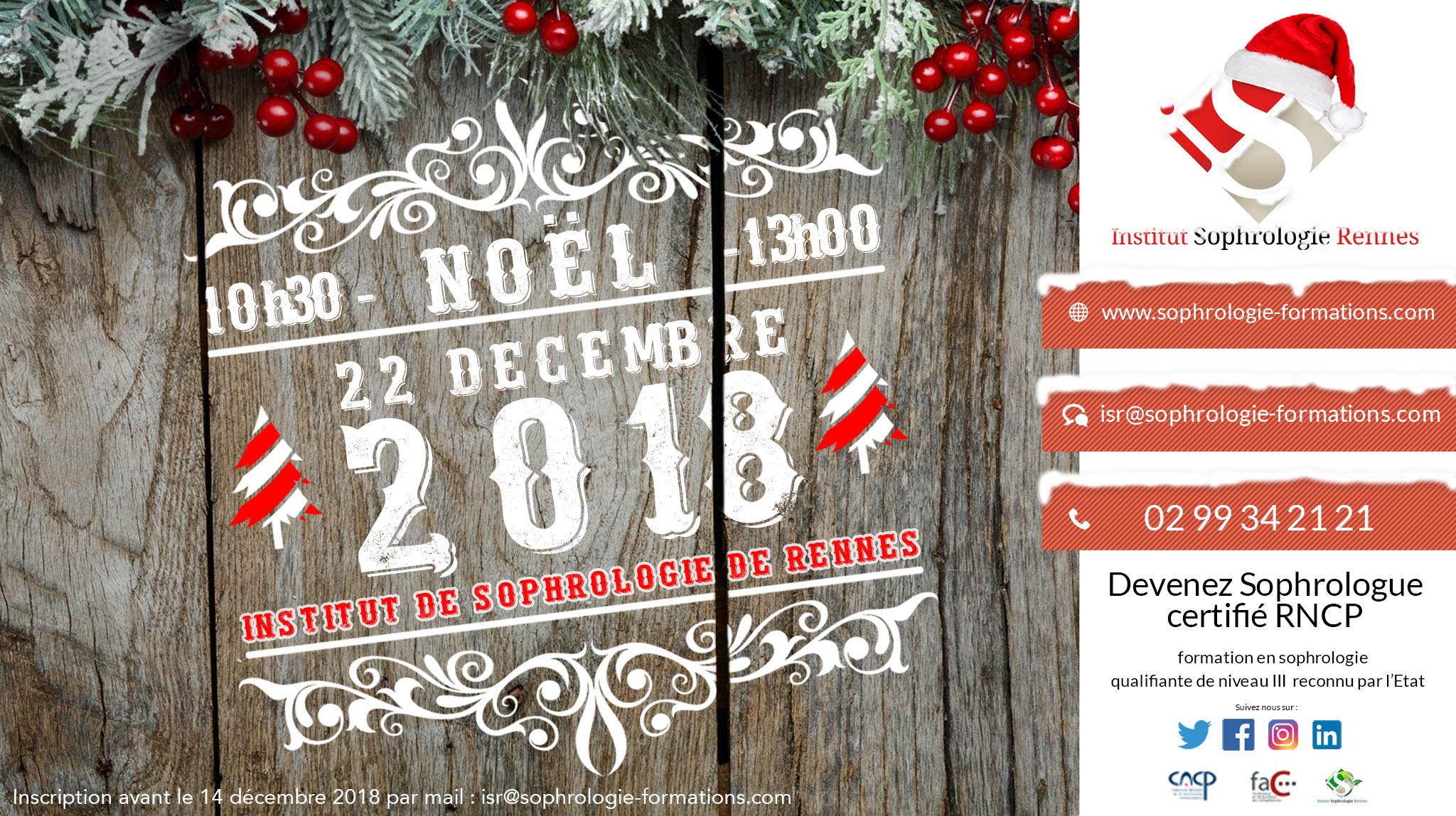 Arbre de Noël 2018 - ISR