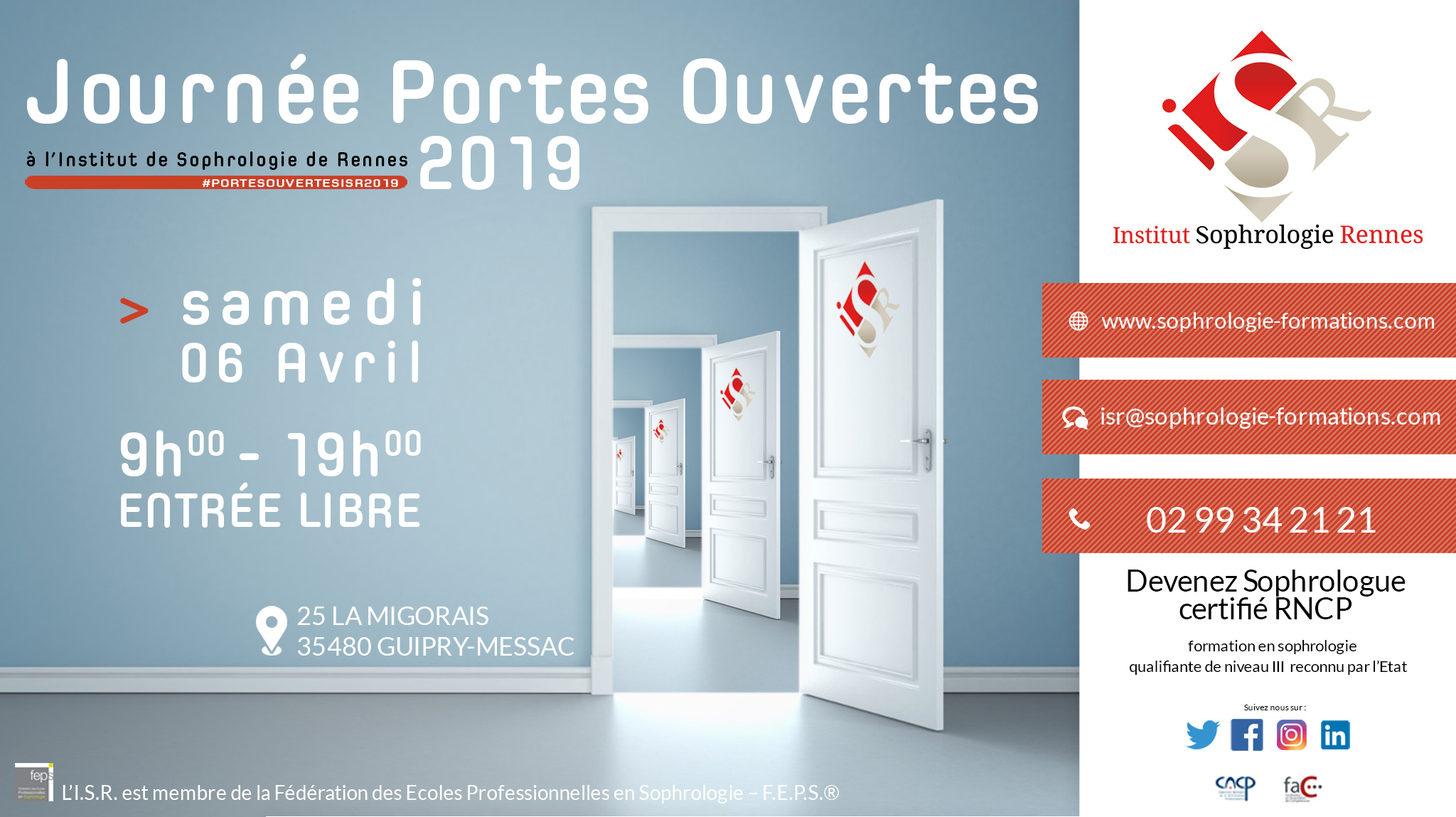 Portes ouvertes 2019