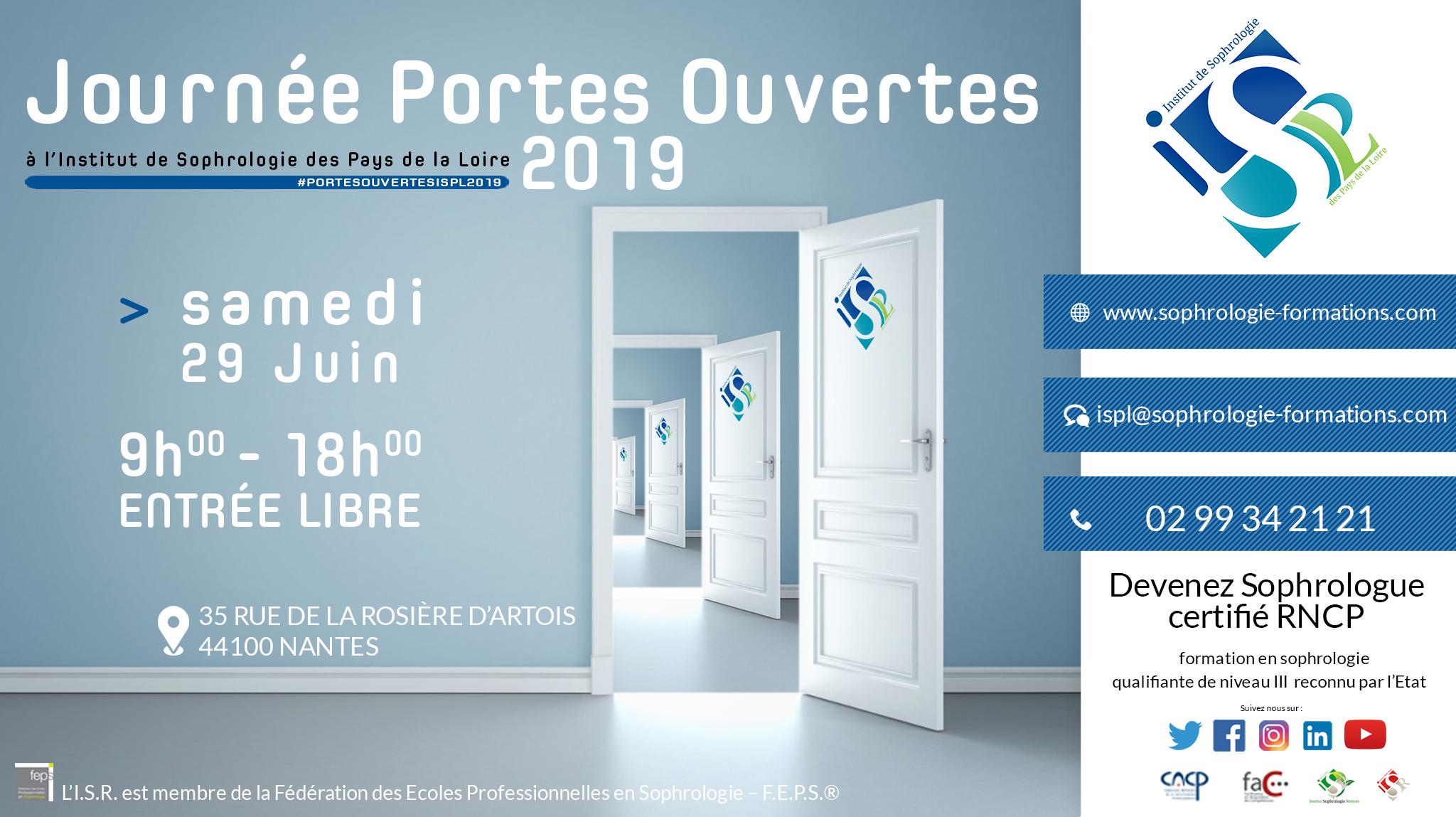 Journée Portes Ouvertes 2019 ISPL