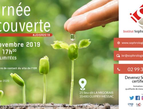 Journée découverte ISR le 28 Novembre 2019
