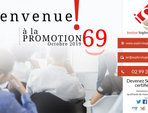 Bienvenue à la Promotion 69