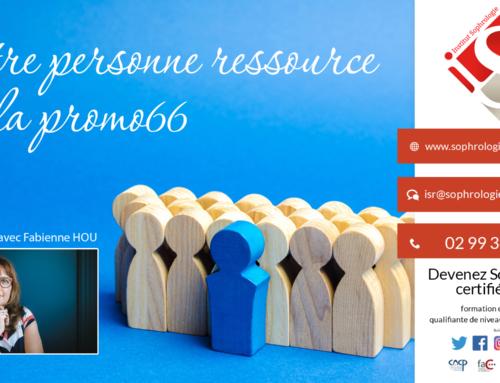 Être personne Ressource de la Promo66 à l'ISR