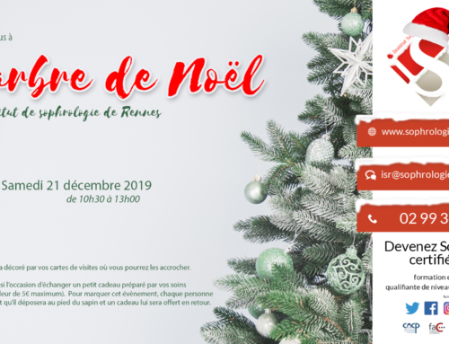 L'arbre de Noël à l'Institut de Sophrologie de Rennes