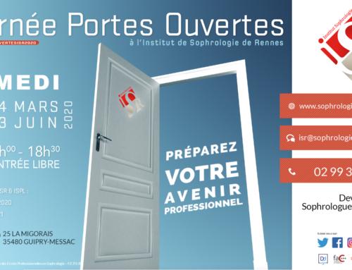 Les Journées Portes ouvertes 2020 à l'ISR