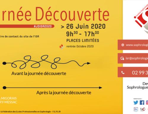 Journée découverte ISR le 26 Juin 2020