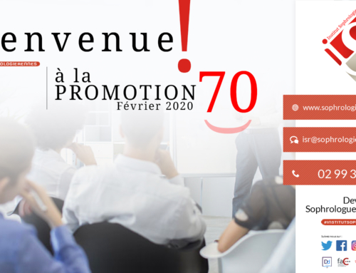 Bienvenue à la Promotion 70