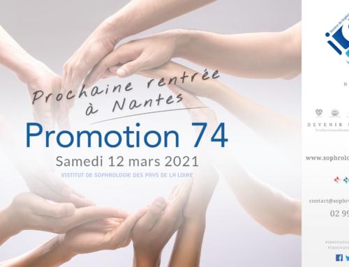 Prochaine rentrée à Nantes P74