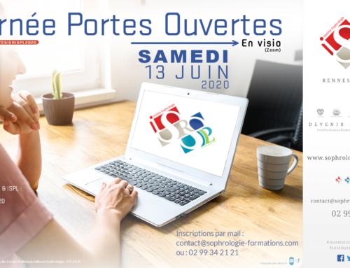 Journées Portes ouvertes ISR et ISPL 2020 en visio