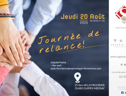 Journée de relance ISR le 20 Août 2020