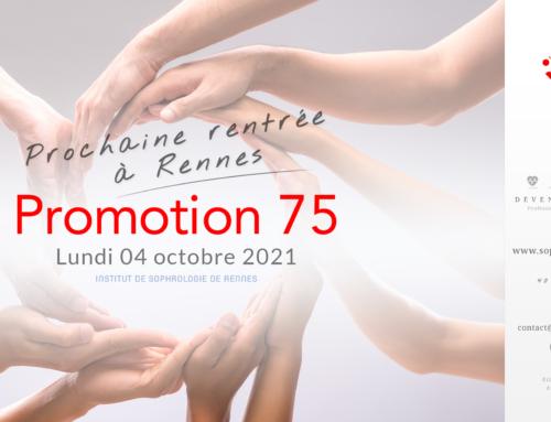 Prochaine rentrée à Rennes P75