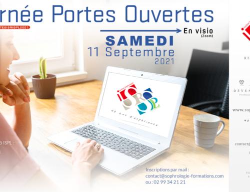 Journée Portes ouvertes ISR et ISPL le 11 Septembre 2021